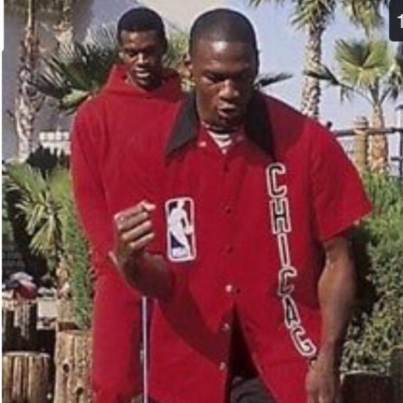 Michael Jordan Bulls Warm Up Jacket